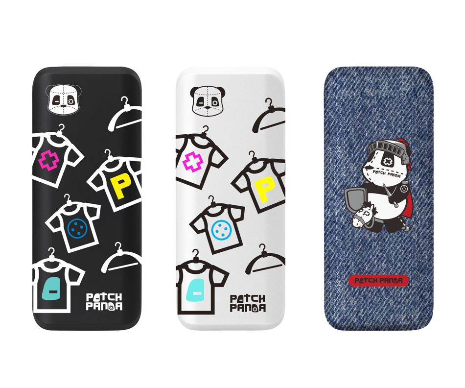 EVA3000-P Power Bank-Patch panda power bank_Mobile Charger_Adorable charger